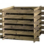 Drveni komposter