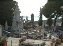 Hvar cemetery view